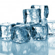 Ice cubes - Foto Stock