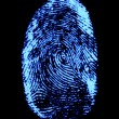 Finger-print - Stock Photo