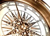 Vintage compass — Stock Photo
