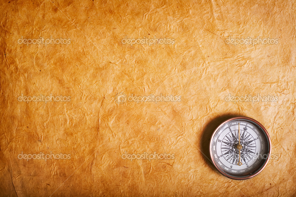 Vintage compass — Stock Photo #1209521