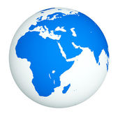 White globe — Stock Photo