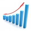 Bar chart — Stock Photo #1295804