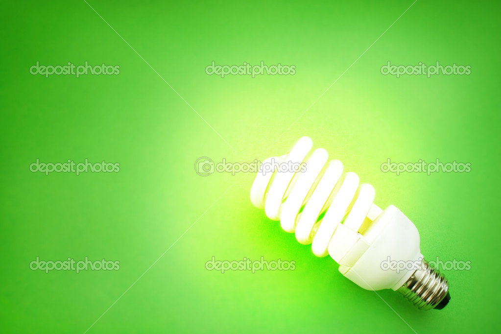 Energy saving light bulb — Stock fotografie #1292970