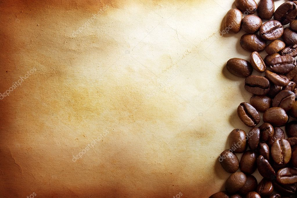 Coffee grunge background — Stock fotografie #1298204