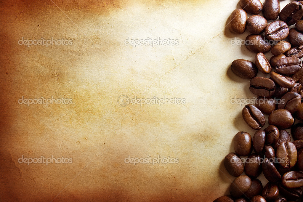 Coffee grunge background — Stockfoto #1298204