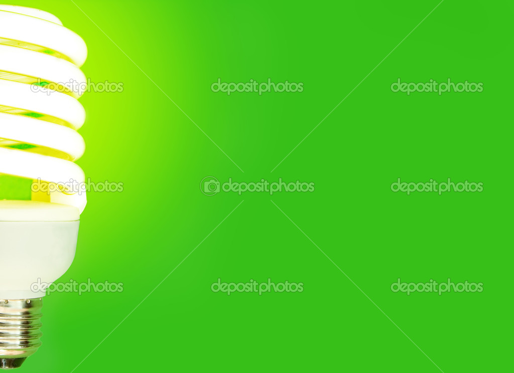 Energy saving light bulb — Stock Photo #1300702