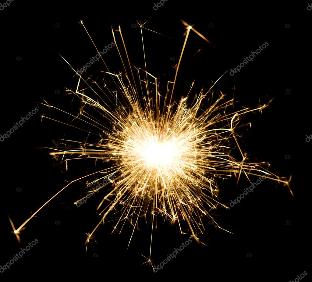 Sparkler — Stock Photo #1300730