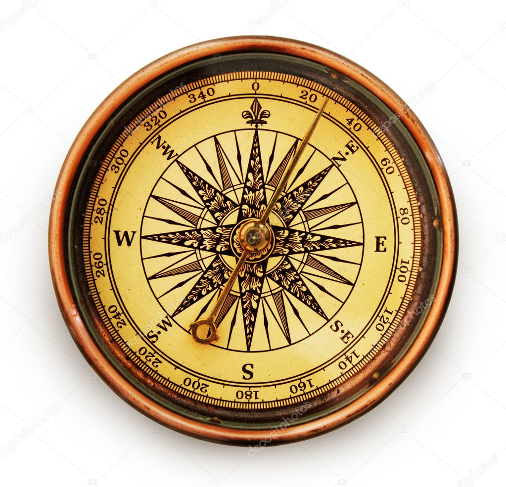 Vintage compass — Stock Photo © Alexstar #1314051