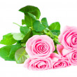 Bouquet of beautiful pink roses — Stock Photo #1177139