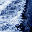 Blue water flow — Stock Photo #1200411