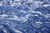Blue Water Flow — Stock Photo