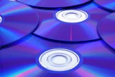 Background of some colorful compact disc — Stock Photo