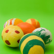 Colored easter eggs — Stock Photo #1236635