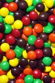 Colorful chocolate candies — Stock Photo