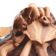 Stock Photo: Chocolate ice cream