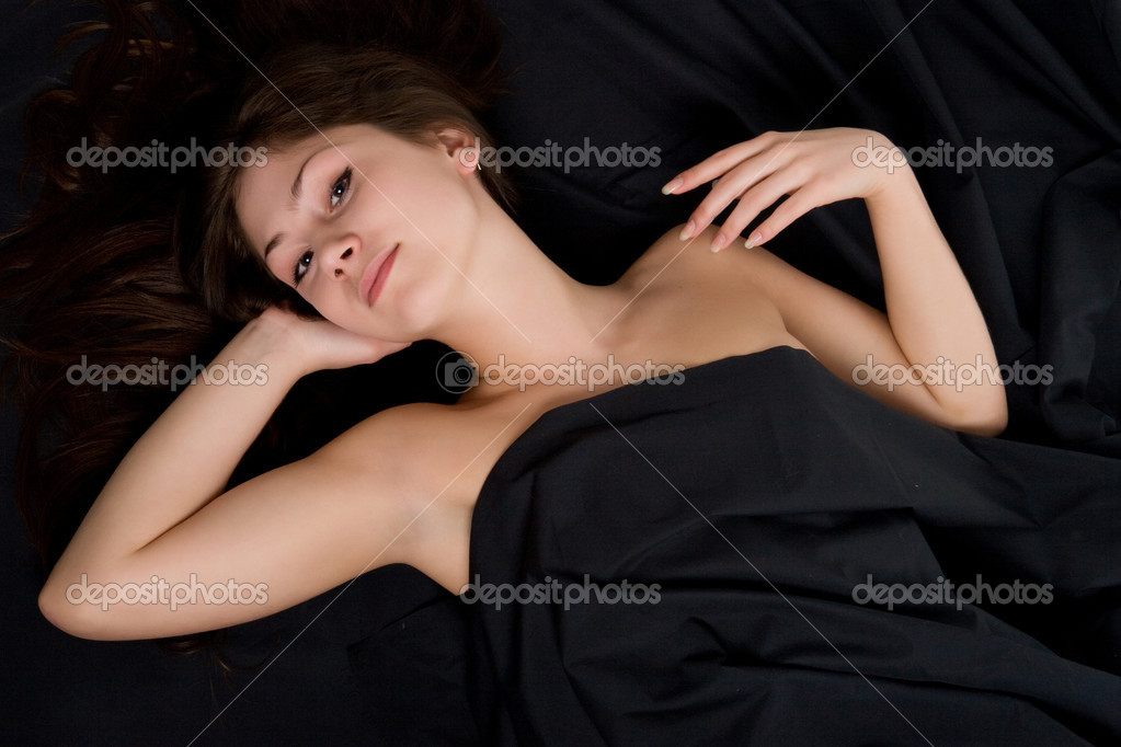 Beautiful young girl waking up  — Stock Photo #1284528