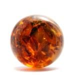 Amber ball — Stock Photo