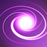 Violet spiral — Stock Photo #2582634