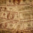 Stock Photo: Old money texture