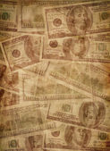 Old money texture — Stock Photo