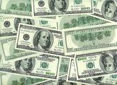 Dollars texture — Stock Photo