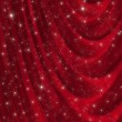 Red drapery background — Stock Photo