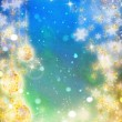 Beautiful New year background — Stock Photo