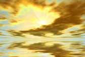 Východ slunce — Stock fotografie