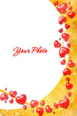 Valentine frame — Stock Photo