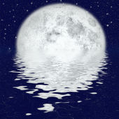 Beautiful moonlight — Stock Photo
