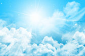 神奇的天空 — 图库照片