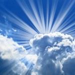 Beautiful blue sky — Stock Photo #1202225