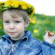 Portrait of little boy — Stock Photo #1202792