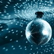 Shiny disco ball - Stock Photo