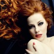 Royalty-Free Stock Photo: Redhead sensuality