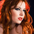 Royalty-Free Stock Photo: Redhead passion