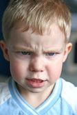 Angry kid — Stock Photo