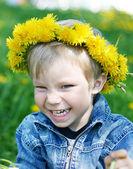 Funny kid — Stock Photo