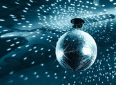 Shiny Disco-Kugel — Stockfoto