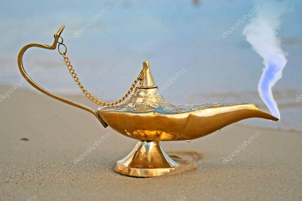 Лампа аладдина своими руками