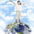 This is my world! — Stock Photo