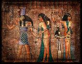 Gamla egirtian papyrus — Stockfoto