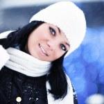 Fille d'hiver — Photo
