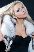 Chic blond — Stock Photo