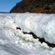 Spring melting of sea ice — Stock Photo