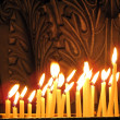 Stock Photo: Candles in the Church