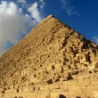 Great Pyramid of Giza, Egypt — Stok Fotoğraf #1477093