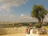 Jerusalem, Israel, observation deck — Stock Photo