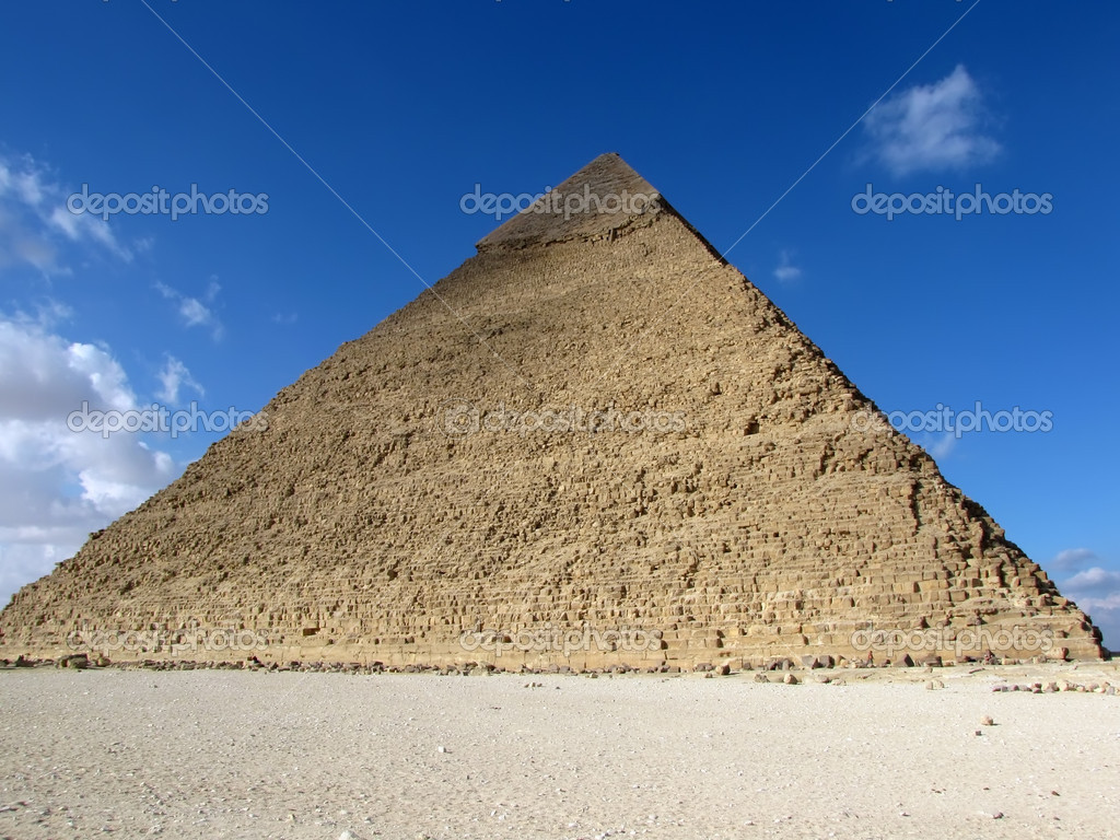 Great Pyramid of Giza, Egypt                                 Stock Photo #1517975