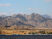 Sinai mountains, Sharm El Sheikh, Egypt — Stock Photo